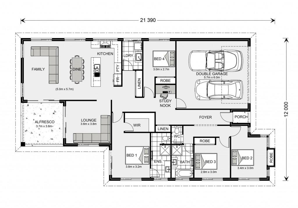 Hawkesbury 223 - Element Series Floorplan