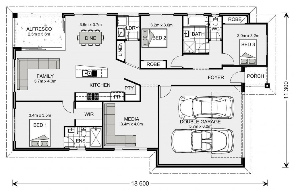 Beachlands 187 - Metro Series Floorplan
