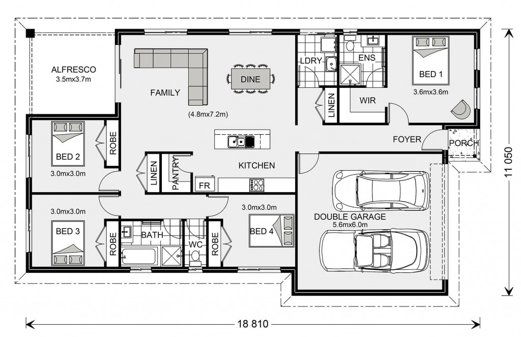 Nova 190 - Express Series Floorplan