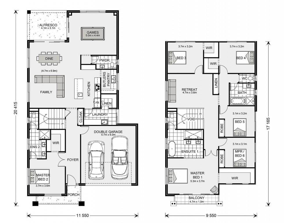 Balmain 350 - Element Series Floorplan