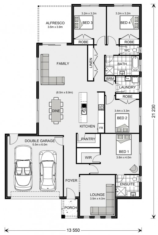 Woodridge 232 - Express Series Floorplan