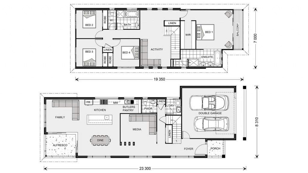 Buderim 290 - Metro Series Floorplan