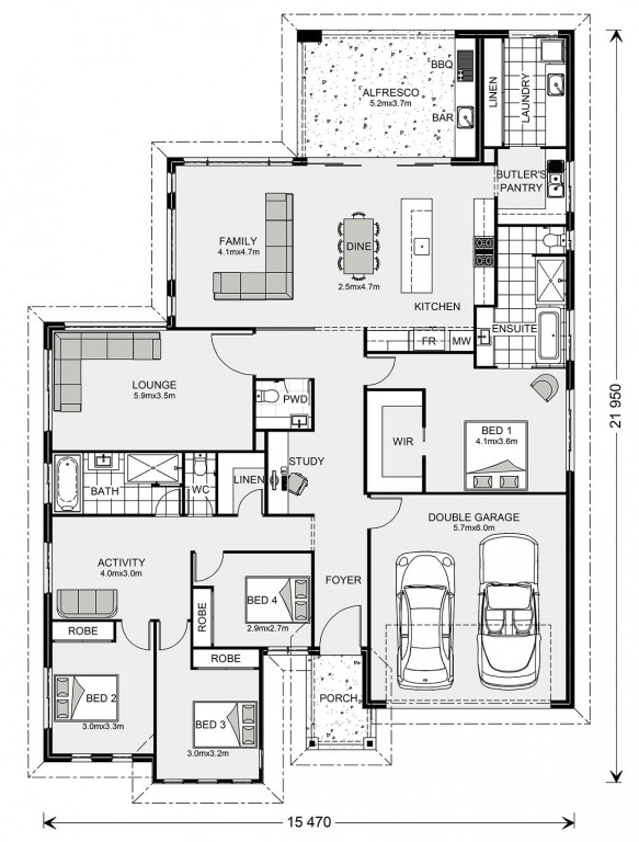 Peninsula 273 - Element Series Floorplan