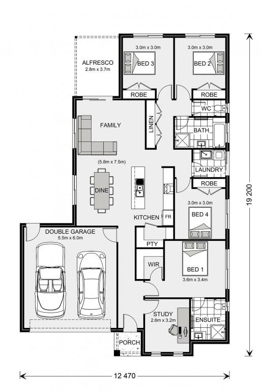 Woodridge 195 - Express Series Floorplan