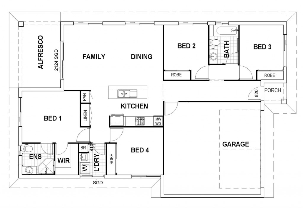 Parkside 168 BLOCK Floorplan