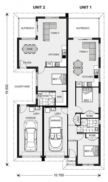 Belmont 186 - Dual Living Series Floorplan