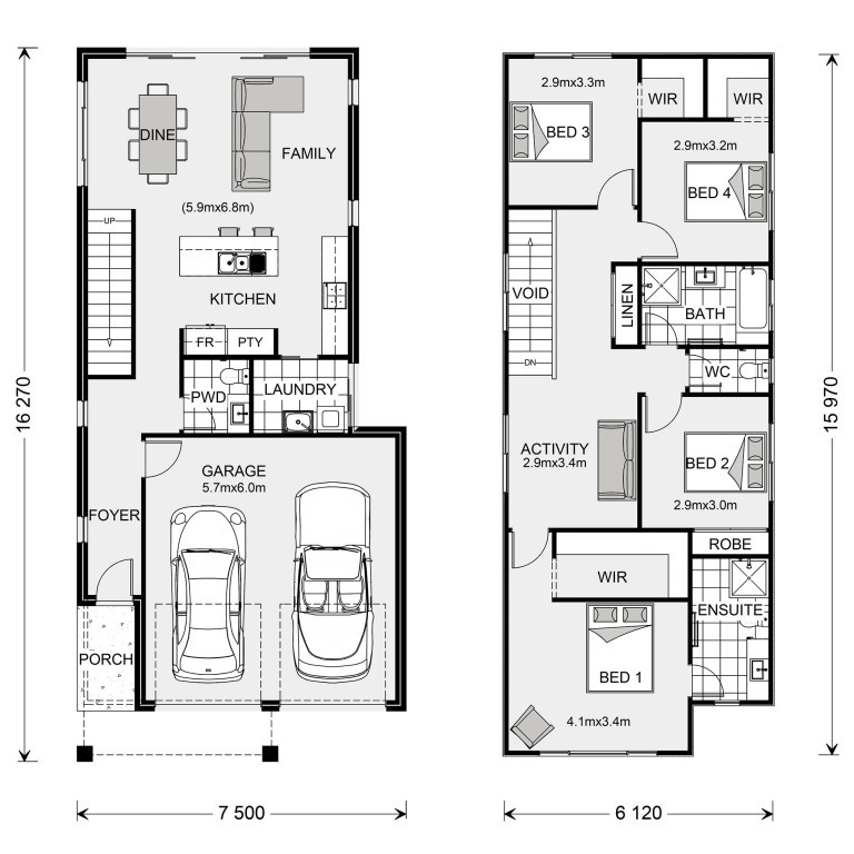 Carlton 200 - Express Series Floorplan