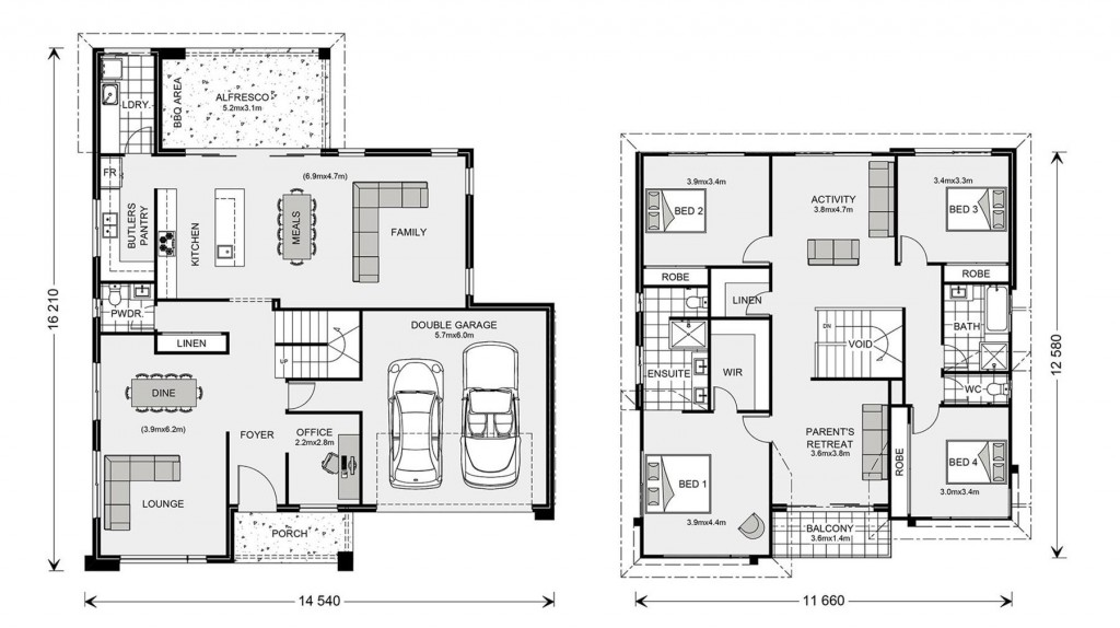 Esplanade 328 - Element Series Floorplan