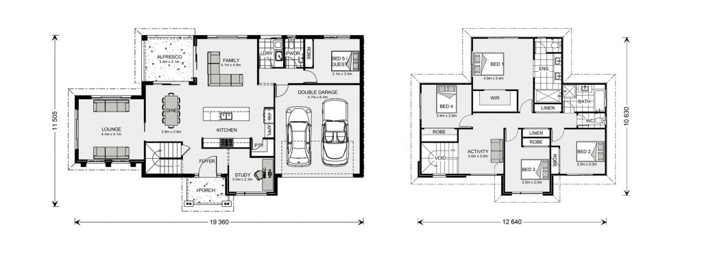 Greenbay 274 - Element Series Floorplan