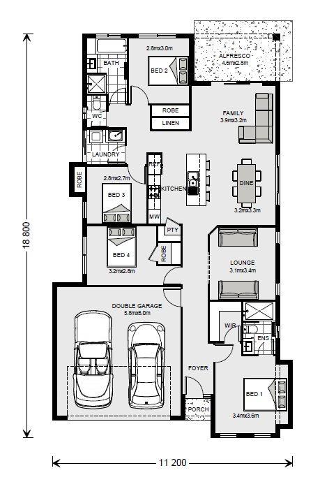 Bridgewater NQ 187 - NQ Series Floorplan