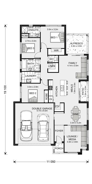 Oceanside 187 - Express Series Floorplan