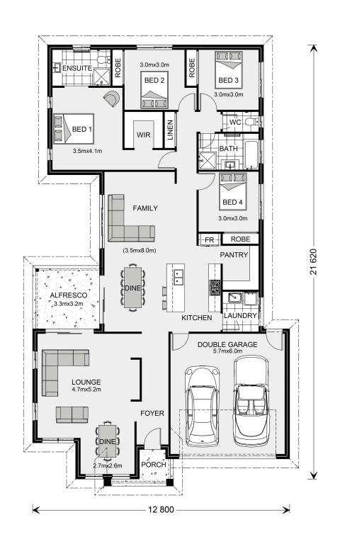 Northside 273 - Element Series Floorplan