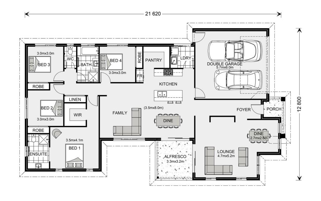 Northside 229 - Element Series Floorplan