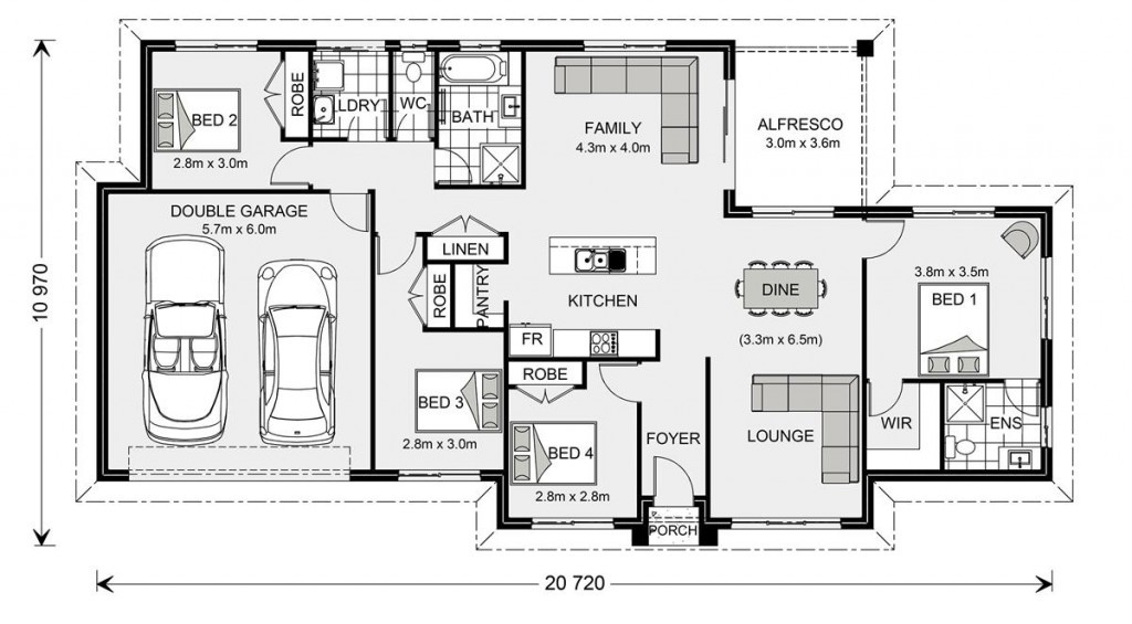 Wishart 190 - Express Series Floorplan