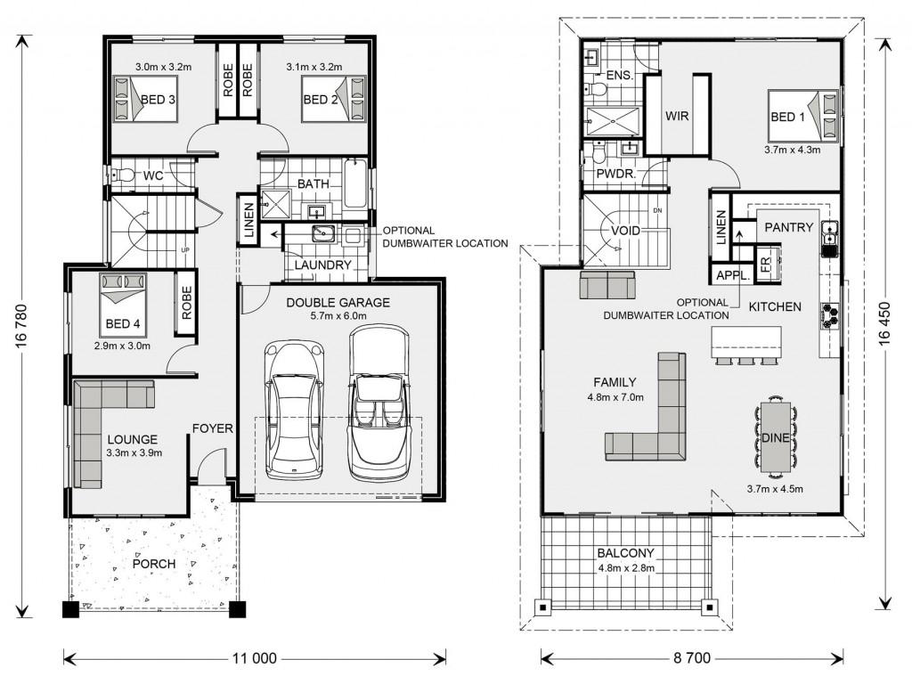 Torquay 268 - Upper Floor Living Floorplan