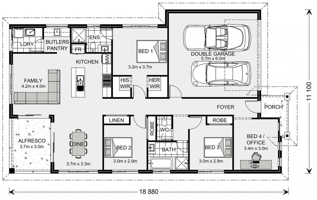 Casuarina 187 - Element Series Floorplan