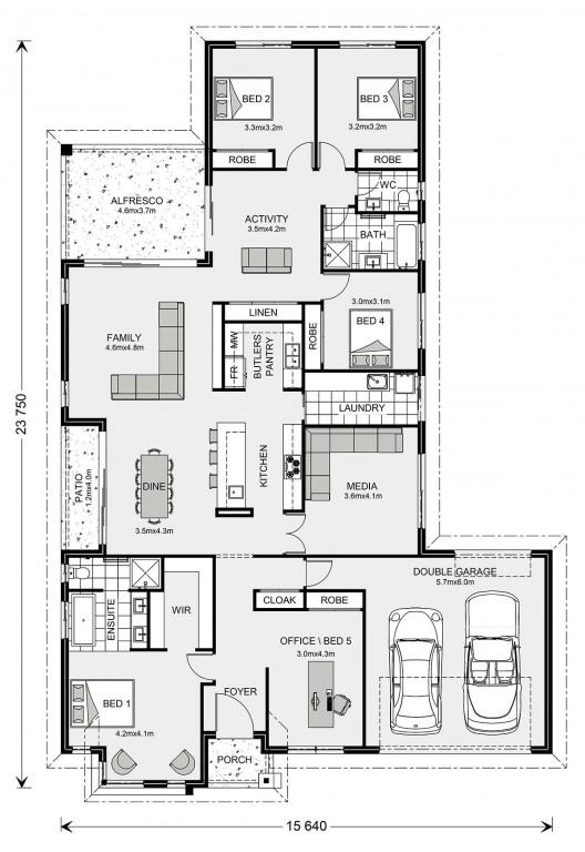 Benowa 280 - Element Series Floorplan