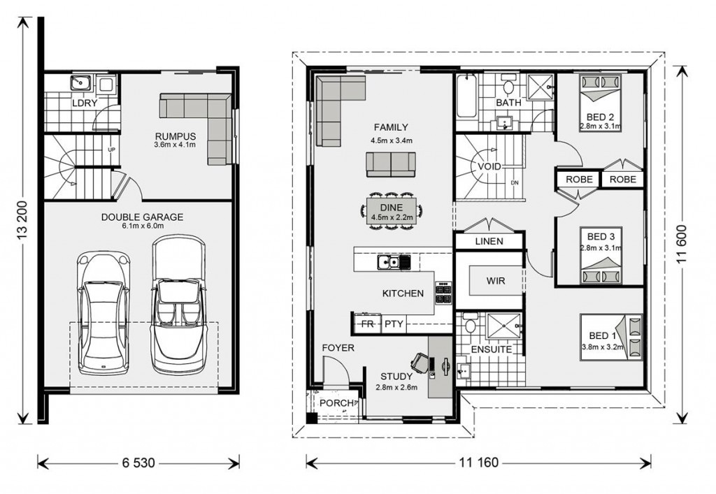 Regatta SL 190 - Split Level Series Floorplan
