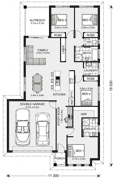 Woodridge 187 Floorplan