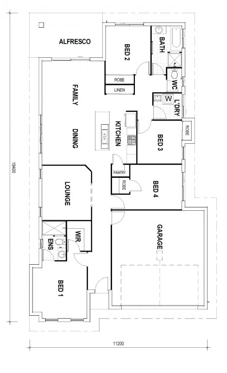 Bridgewater NQ 187 - NQ Series Floorplan