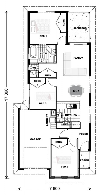 Robina 118 Floorplan