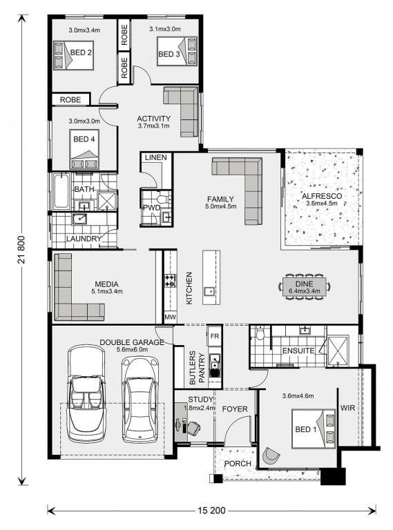 Coolum - Element Series Floorplan