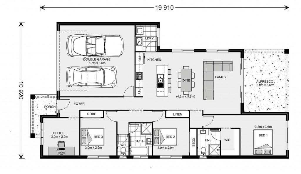 Melville NQ 187 - NQ Series Floorplan