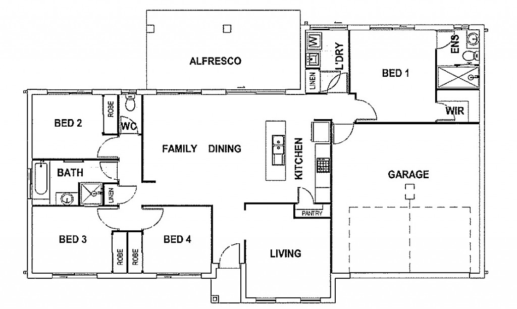 Bridgewater - Estate Series Floorplan