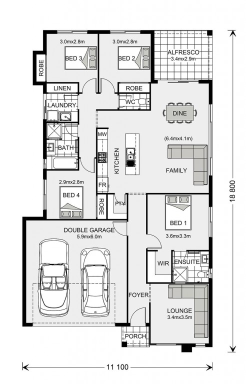 Brookfield Floorplan