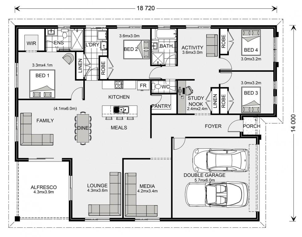 La Trobe 253 - Express Series Floorplan