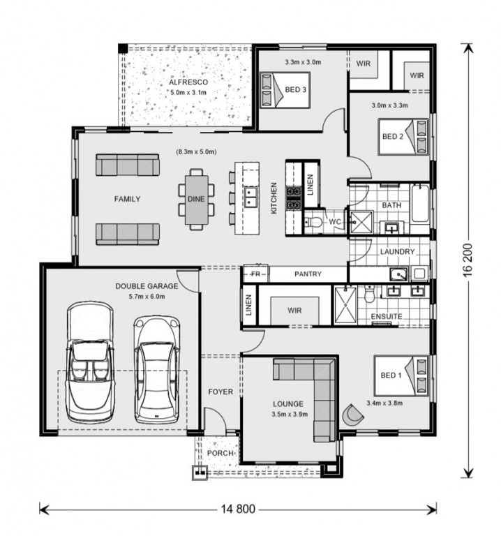 Glenview 210 - Express Series Floorplan