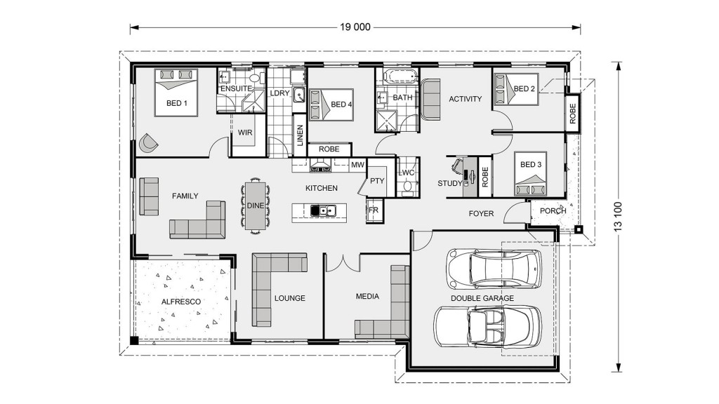 Iluka 230 - Element Series Floorplan