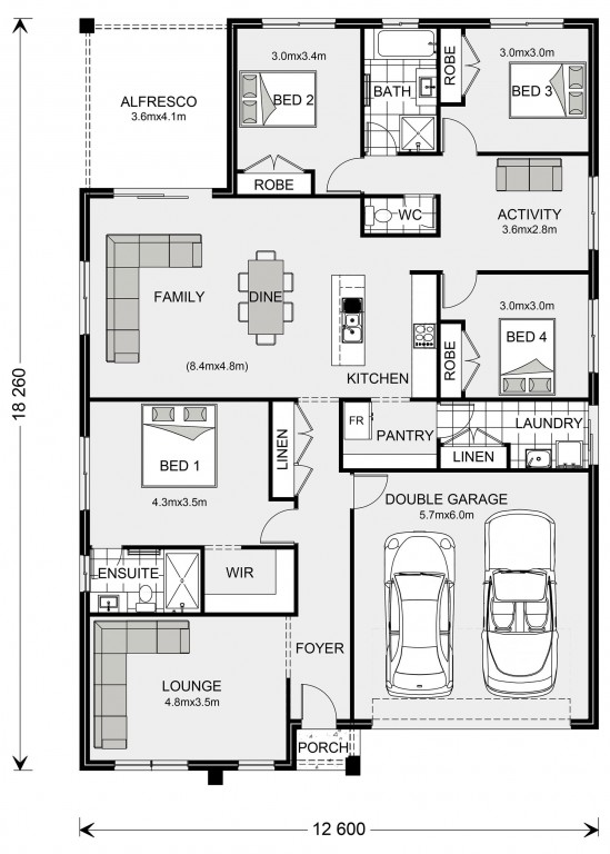 Brookfield 224 - Express Series Floorplan
