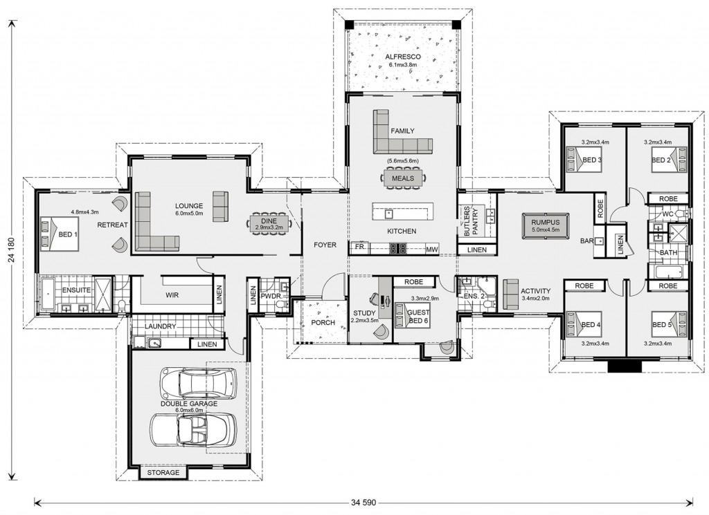 Mansfield 407 Floorplan