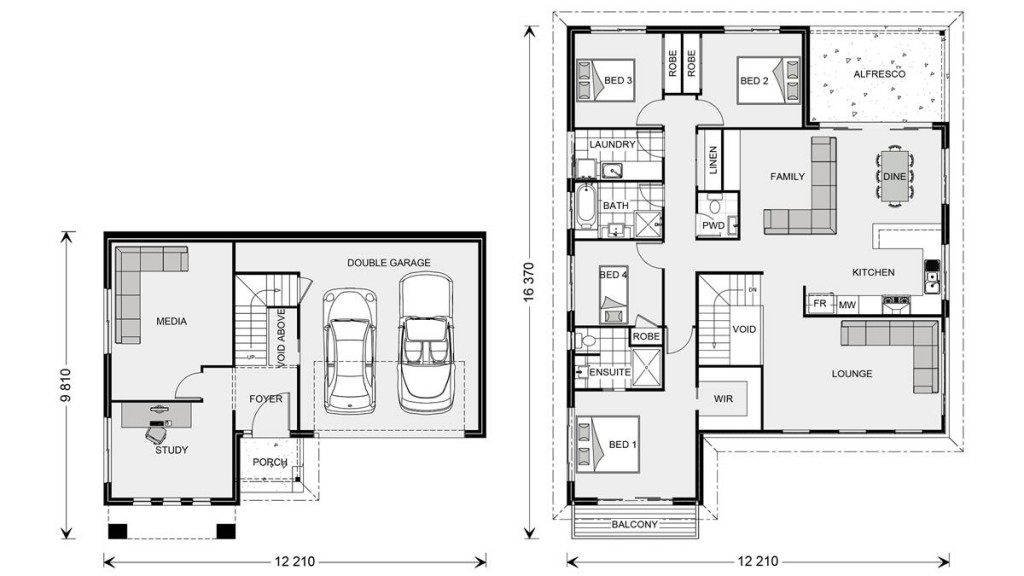 Windsor 268 Floorplan