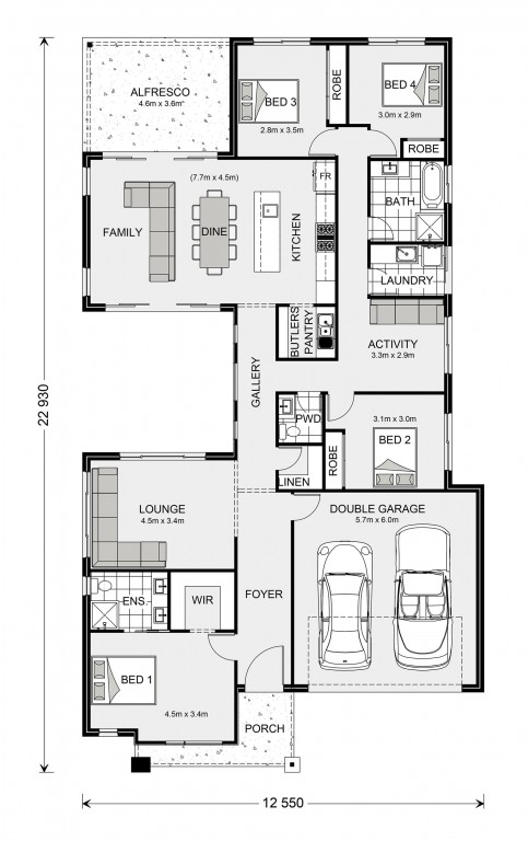 Beachmere 235 Floorplan