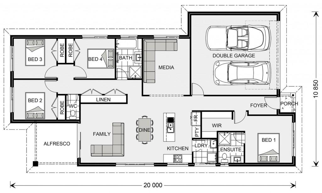Pacific 185 Floorplan
