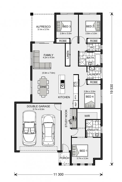 Woodridge 187 - Express Series Floorplan
