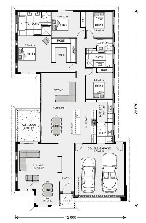 Northside 252 - Element Series Floorplan