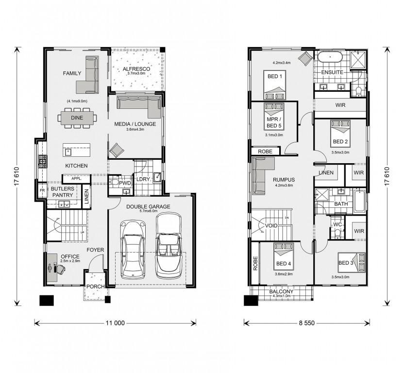 Coogee 291 - Element Series Floorplan