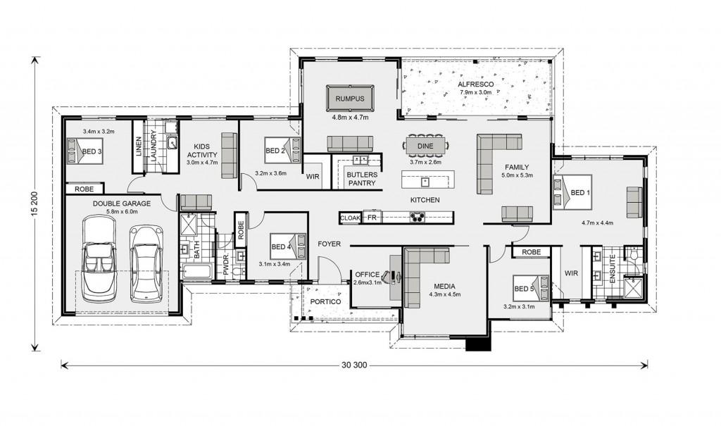 Somerset 340 - Prestige Series Floorplan