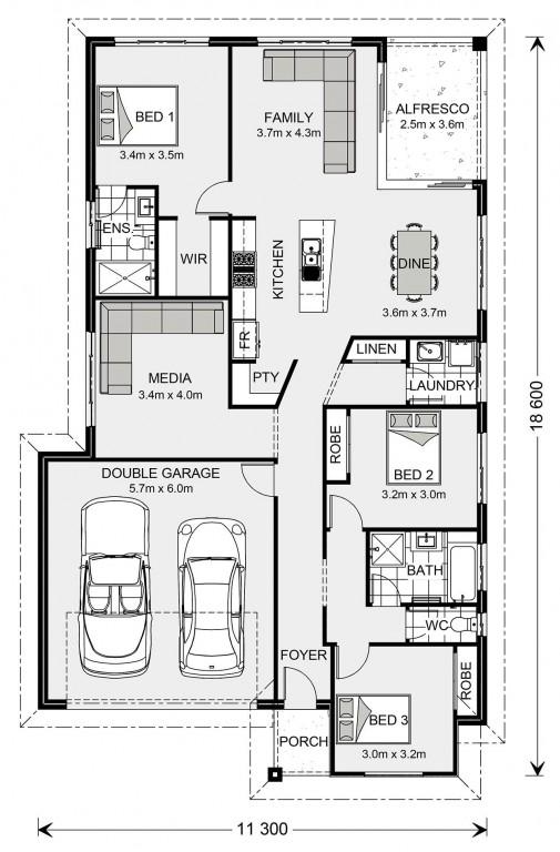 Beachlands 187 - Express Series Floorplan