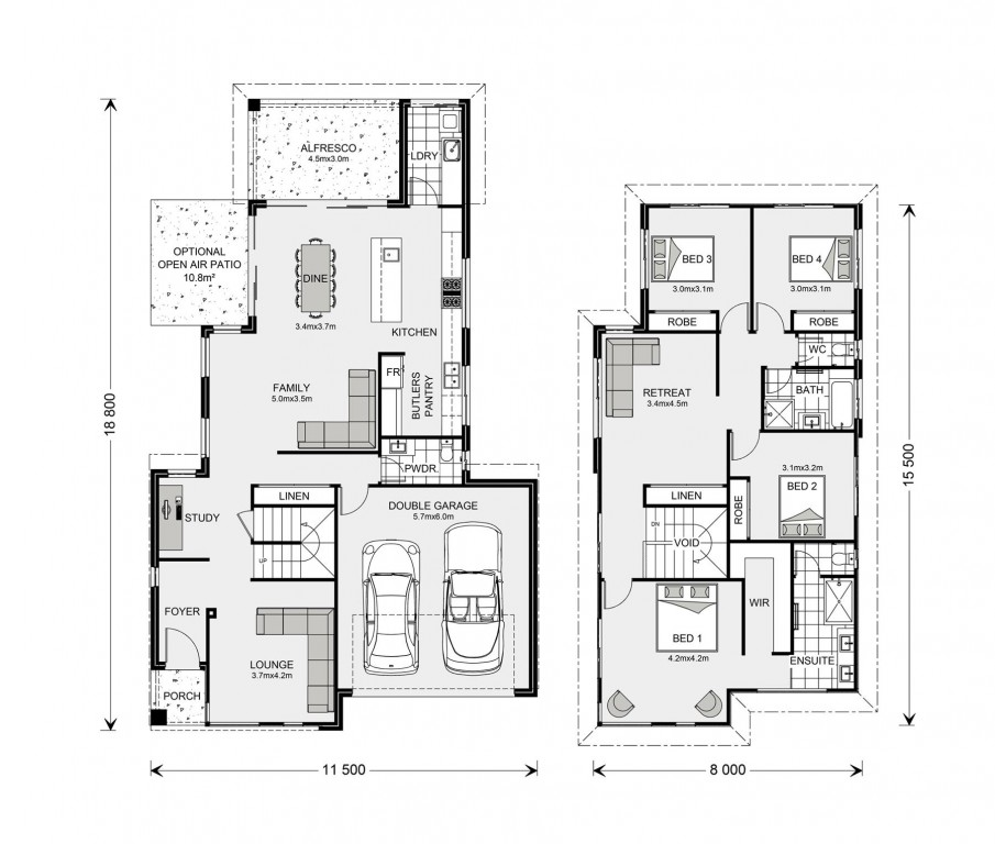 Buderim 290 - Metro Series Floorplan