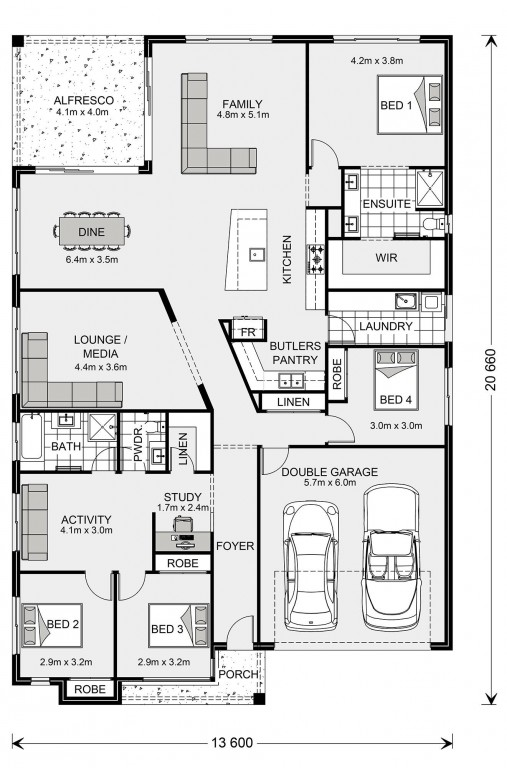 Beachlands 270 Floorplan