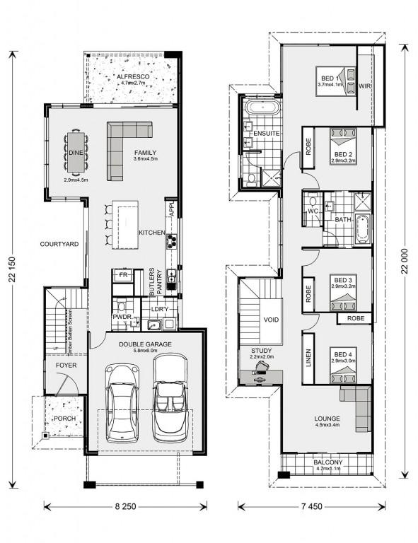 Nelson Bay 264 - Metro Series Floorplan
