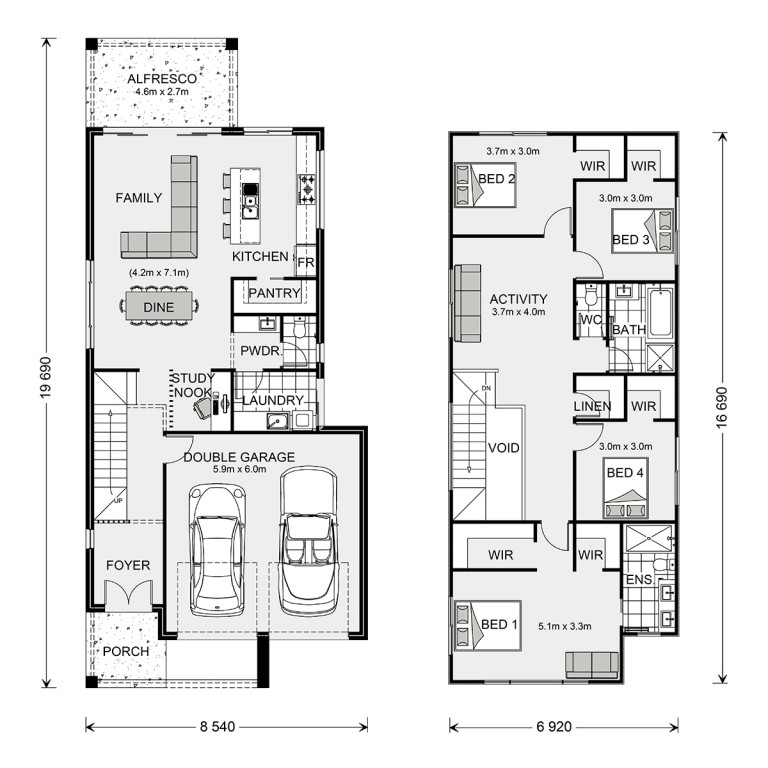 Ascot 250 - Metro Series Floorplan
