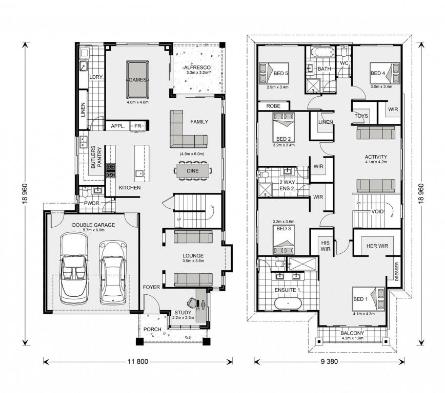 Elwood 344 - Element Series Floorplan