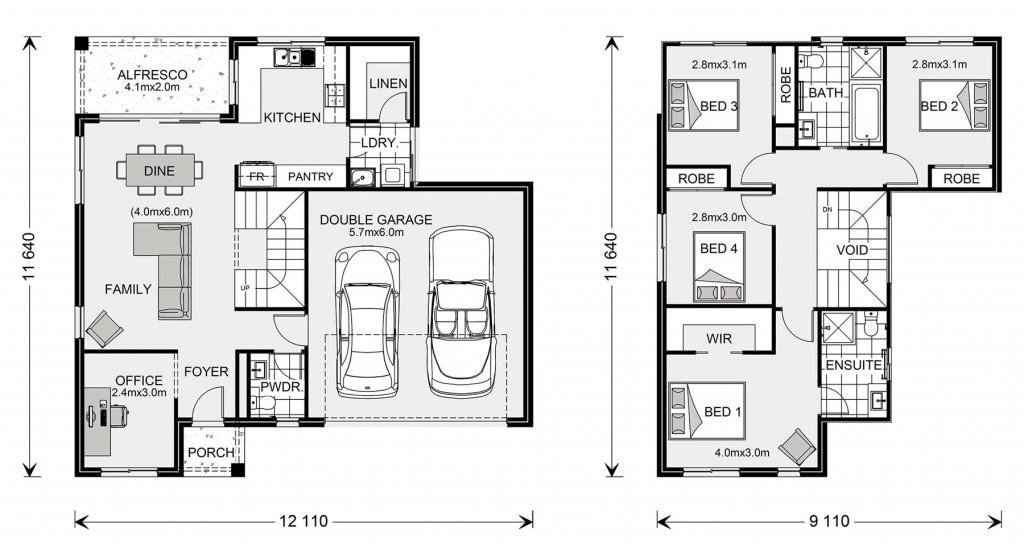 Rosedale 200 - Express Series Floorplan