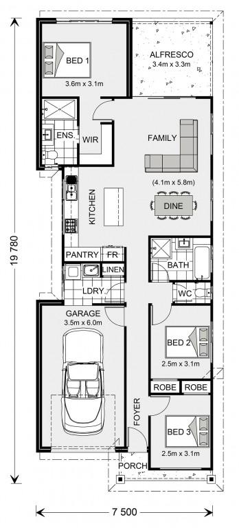 Amandari 137 - Metro Series Floorplan