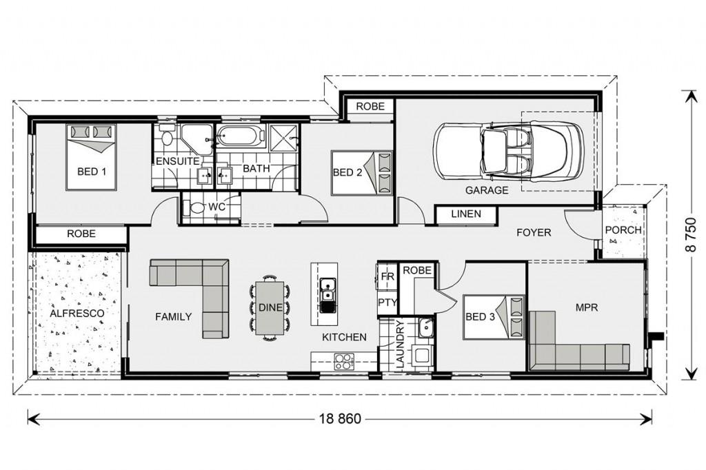 Northbridge 152 - Element Series Floorplan